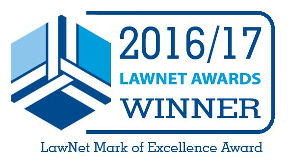 LawNet MoE winner 16/17 associated with Hart Brown, Surrey and London legal specialists