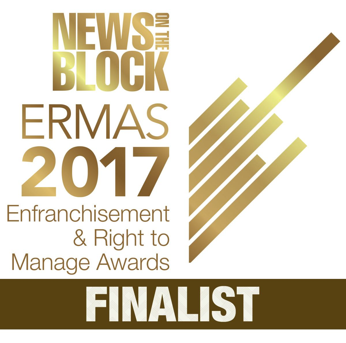 2017 Enfranchisement and Right to Manage Award Finalist Logo