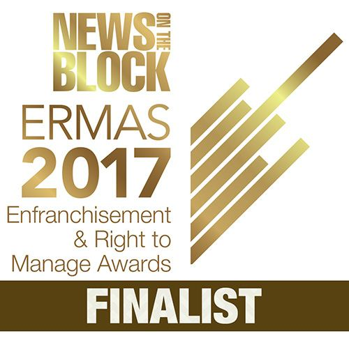 2017 ERMAS Finalist associated with Hart Brown, Surrey and London legal specialists